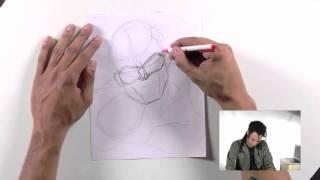 How to Draw Green Lantern - Hal Jordan
