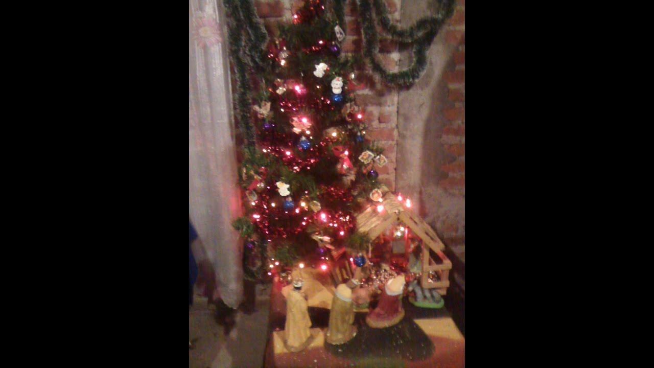 Mi arbol de navidad y nacimiento youtube - Nacimiento para navidad ...