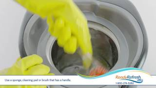 How to Clean a Water Dispenser – ReadyRefresh℠ by Nestlé®
