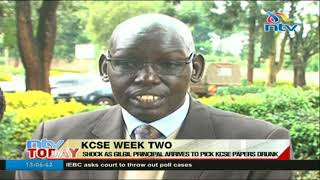 Shock as Gilgil principal arrives to pick KCSE papers drunk