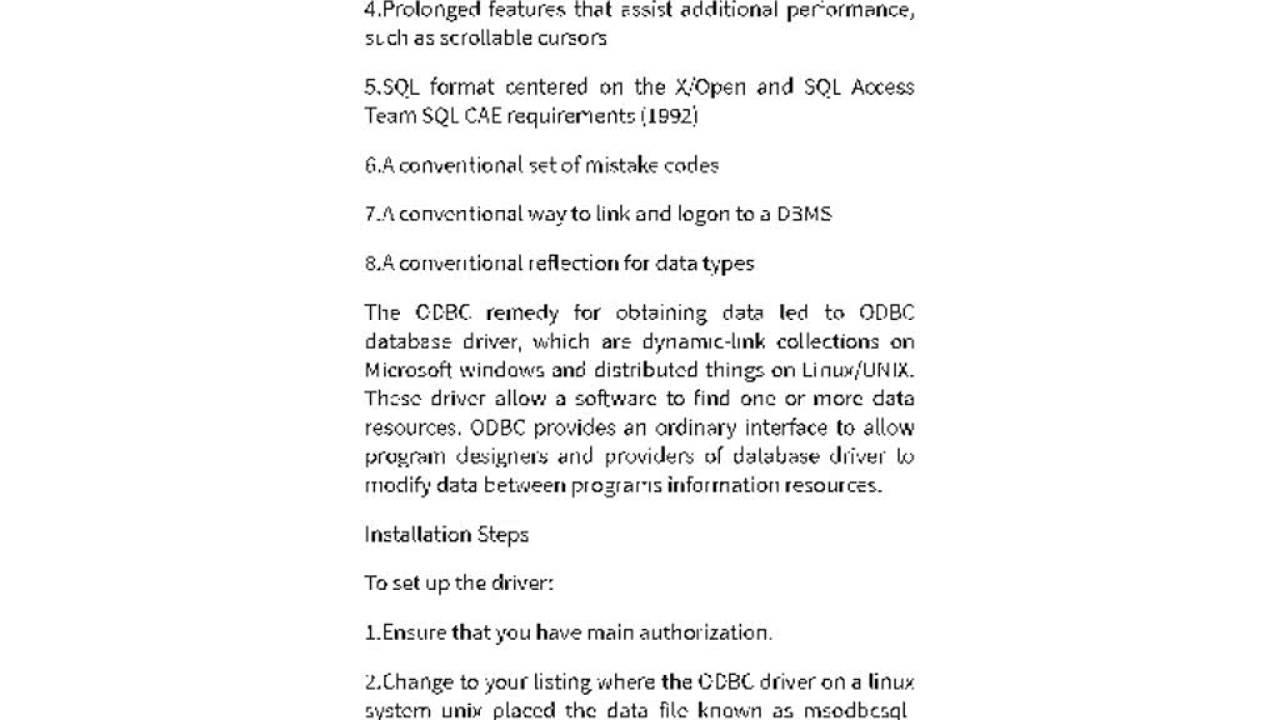 What Is ODBC Driver and How To Install 1