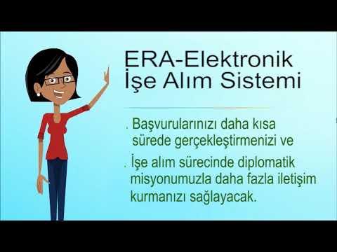 Elektronik İşe Alım Uygulaması (ERA)