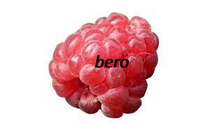 How to say berry in Esperanto