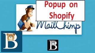 Add a Mailchimp  popup on Shopify