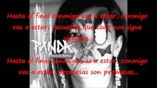 Hasta el final - Panda - Letra