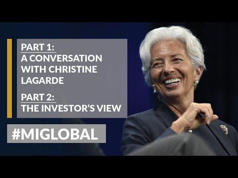 LIVE: Part 1: A Conversation With Christine Lagarde | Part 2: The Investors' View