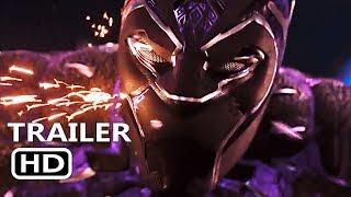 BLACK PANTHER Official Trailer + Car Chase (2018) Marvel Super Hero
