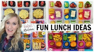 NEW SCHOOL LUNCH IDEAS + What They Ate | JK, K, 1st grade, 2nd Grade | Bunches of Lunches