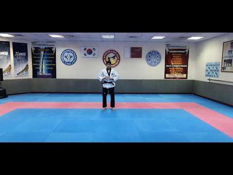 KTC Doha [(Test) Black belt 2 Poomsae: Keumkang]