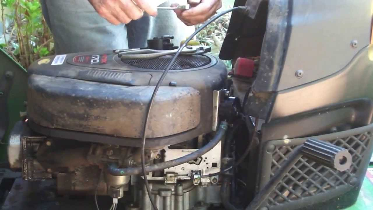 How To Replace A Fuel Pump On John Deere L100 Youtube 170 Wiring Diagram Free Picture