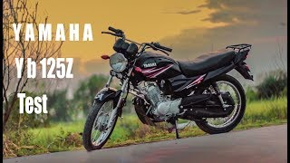 YAMAHA Yb125z testing on the road./Commercial Video/
