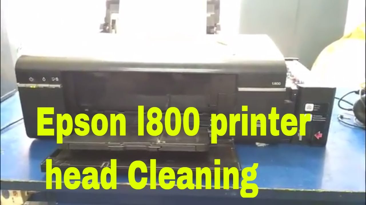 Epson l800 printer head Cleaning