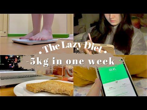 diet vlog: -5kg in a week, no workout, diet journal | indonesia