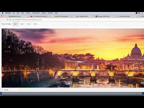 Creating a Responsive Design Website using Bootstrap in Dreamweaver 2017 for beginners