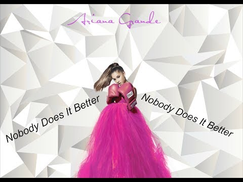 Ariana Grande - Nobody Does It Better - HQ AUDIO & LYRIC VIDEO