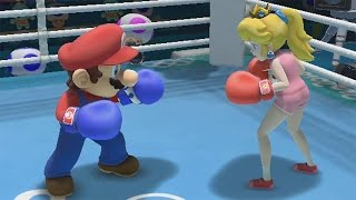 Mario & Sonic at the Rio 2016 Olympic Games (Wii U) - Boxing All Characters Gameplay