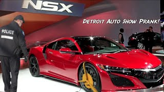 DETROIT AUTO SHOW PRANK!! - HOW TO PRANKS
