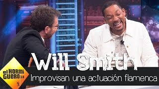 Will Smith improvisa una actuación flamenca - El Hormiguero 3.0