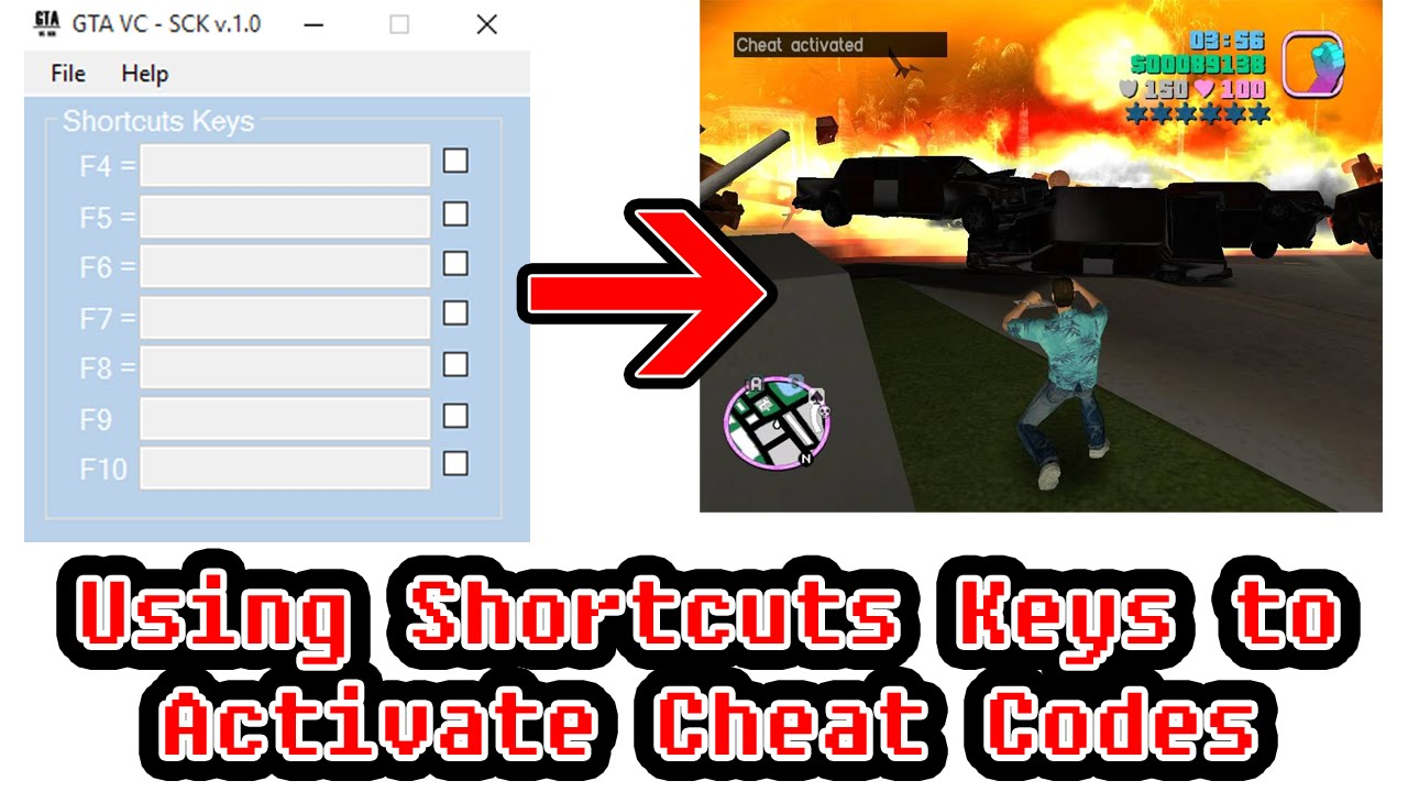Gta vc cheats codes free download.