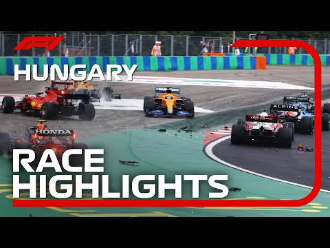 Race Highlights   2021 Hungarian Grand Prix