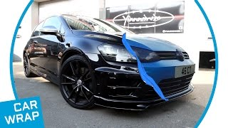 VW Golf R Gets Makeover in Satin Ocean Shimmer Blue