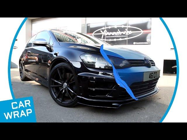 VW Golf R Gets Makeover in Satin Ocean Shimmer Blue