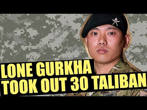 This Lone Gurkha Took Out 30 Taliban Using Every Weapon Within Reach