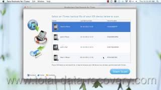 How to Recover Voice Memos from iPhone 5S/5C/5 backup on Mac?