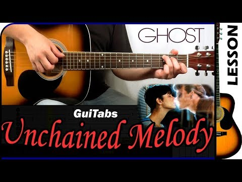 How to play Unchained Melody 👻 - The Righteous Brothers / Guitar Tutorial 🎸