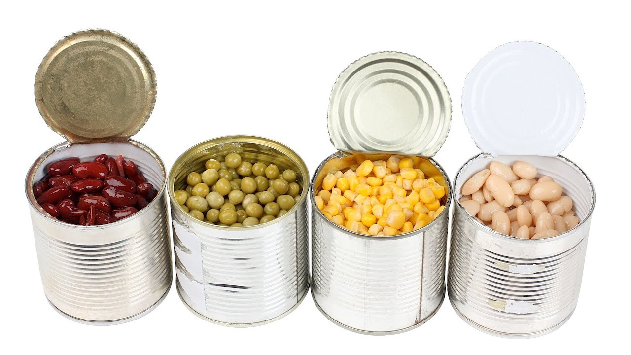 Cans Of Food Frozen