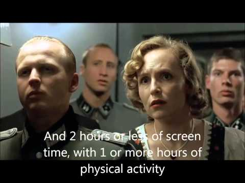 Hitler's angry reaction to obesity and physical inactivity