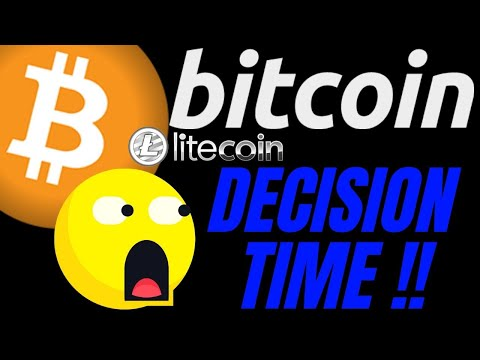 🔥 BITCOIN And LITECOIN DECISION TIME🔥 Bitcoin Price Prediction, Analysis, News, Trading