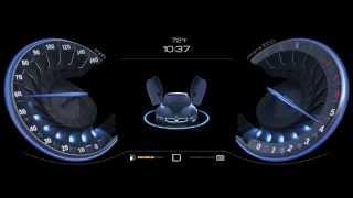 Цифровые приборные панели, созданные с помощью NVIDIA DRIVE