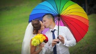 Женя и Сергей. Свадьба карандашей или радужная свадьба.