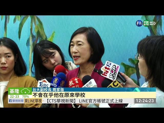 協助港大生續就學 逾600人申請來台   華視新聞 20191122