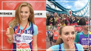 RUNNING LONDON MARATHON & Paula Radcliffe Interview