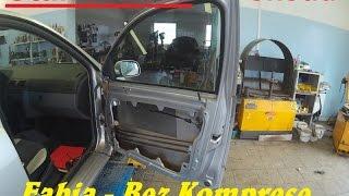 Škoda Fabia Výměna Stahovačky :) BEZ KOMPRESE (: