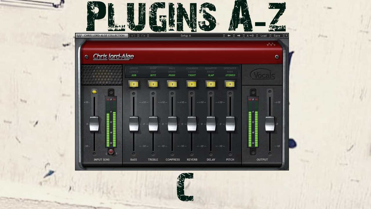 Waves cla vocals plug-in | sweetwater.