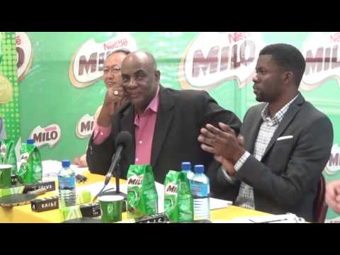 Milo press conference launching primary and prep school table tennis competition 2017