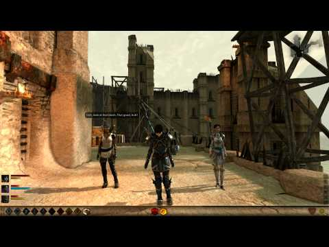 Dragon Age 2: Party Banter on Merrill  & Hawke romance [complete]