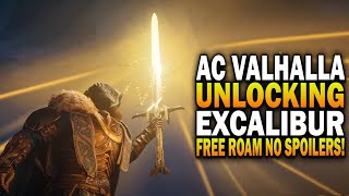 Unlocking The Legendary Sword Excalibur! Assassin's Creed Valhalla (NO SPOILERS)