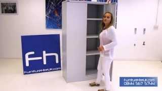 1830mm Double Door Cupboard Demo - Furniture Hire UK