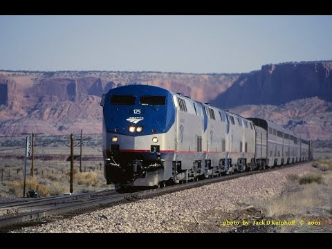 AMTRAK, Roadrailer, Material handling Years, Part I  East and West