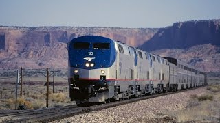"""AMTRAK, Roadrailer, """"Material handling Years, Part I""""  East and West"""