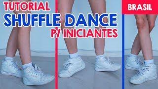 How to Shuffle dance tutorial | Passos para iniciantes | Easy Steps for Beginners  | Taty Macieski