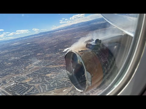 EMERGENCY United Airlines B777 catastrophic Engine failure over Pacific (cowling blew)