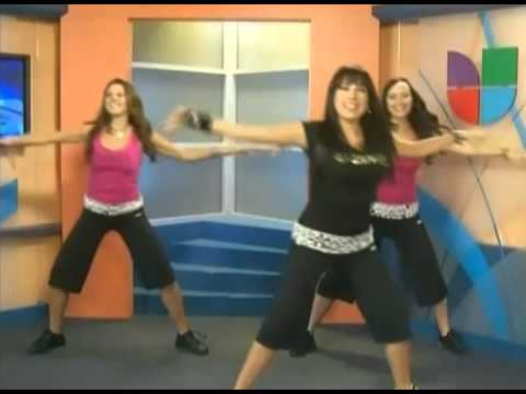Party Fitness Zumba Segment at Spanish Channel Univision!