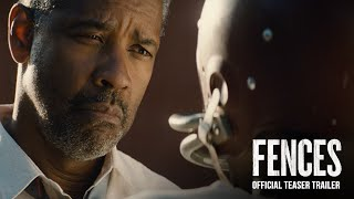 Fences Teaser Trailer (2016) - Paramount Pictures
