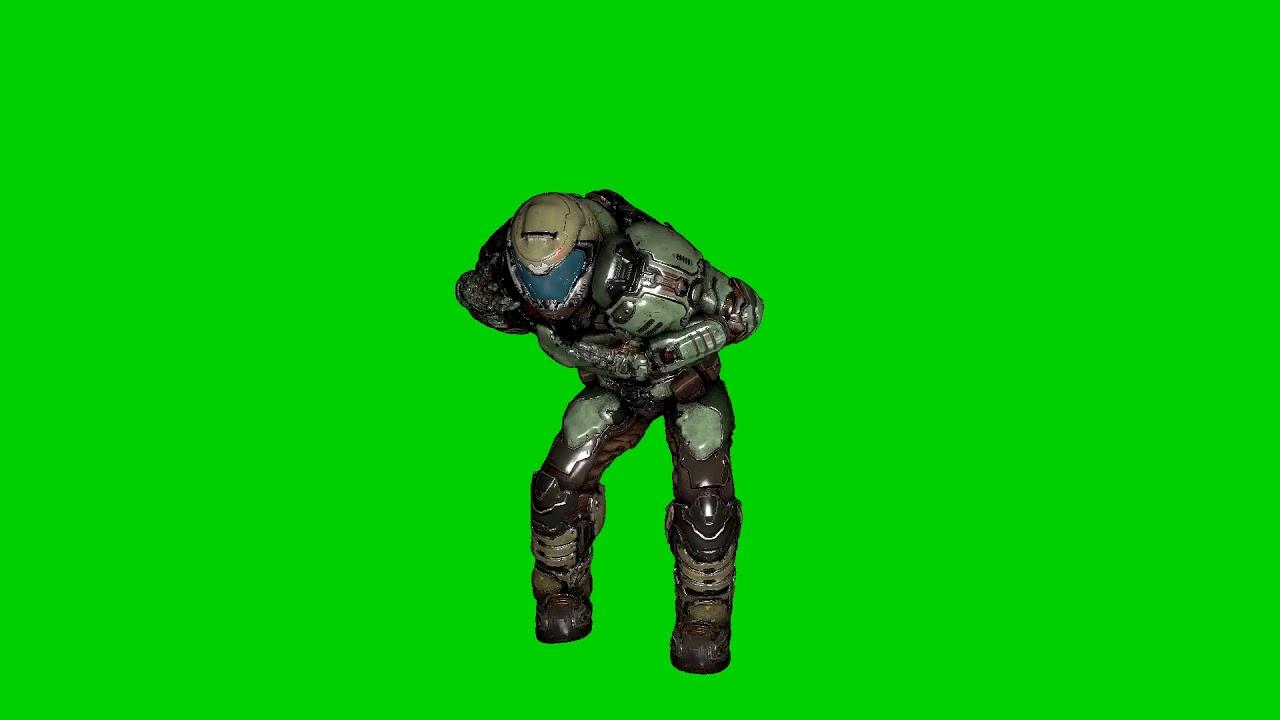 dancing doom guy gif