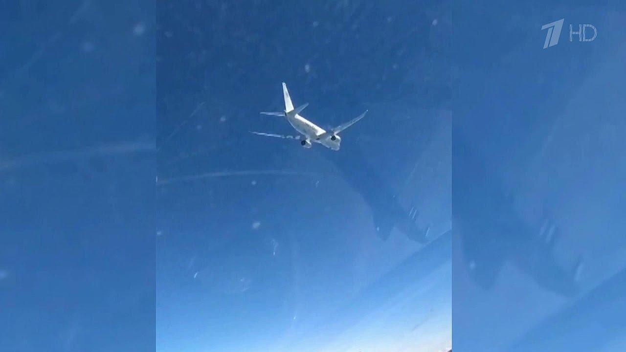 Над Балтийским и Черным морями военная авиация перехватила иностранные самолеты-разведчики